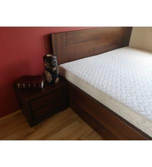 Łóżko z pojemnikiem na pościel