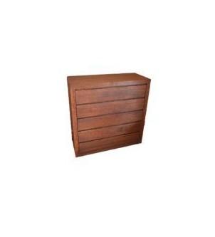Komoda dębowa 5 szuflad