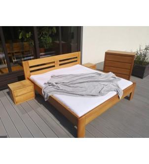 Sypialnia z drewna bukowego