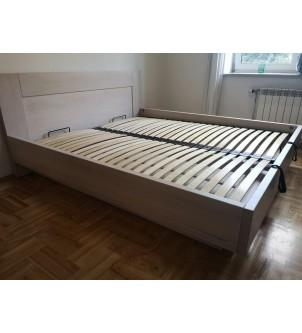 łóżko ze skrzynią i...